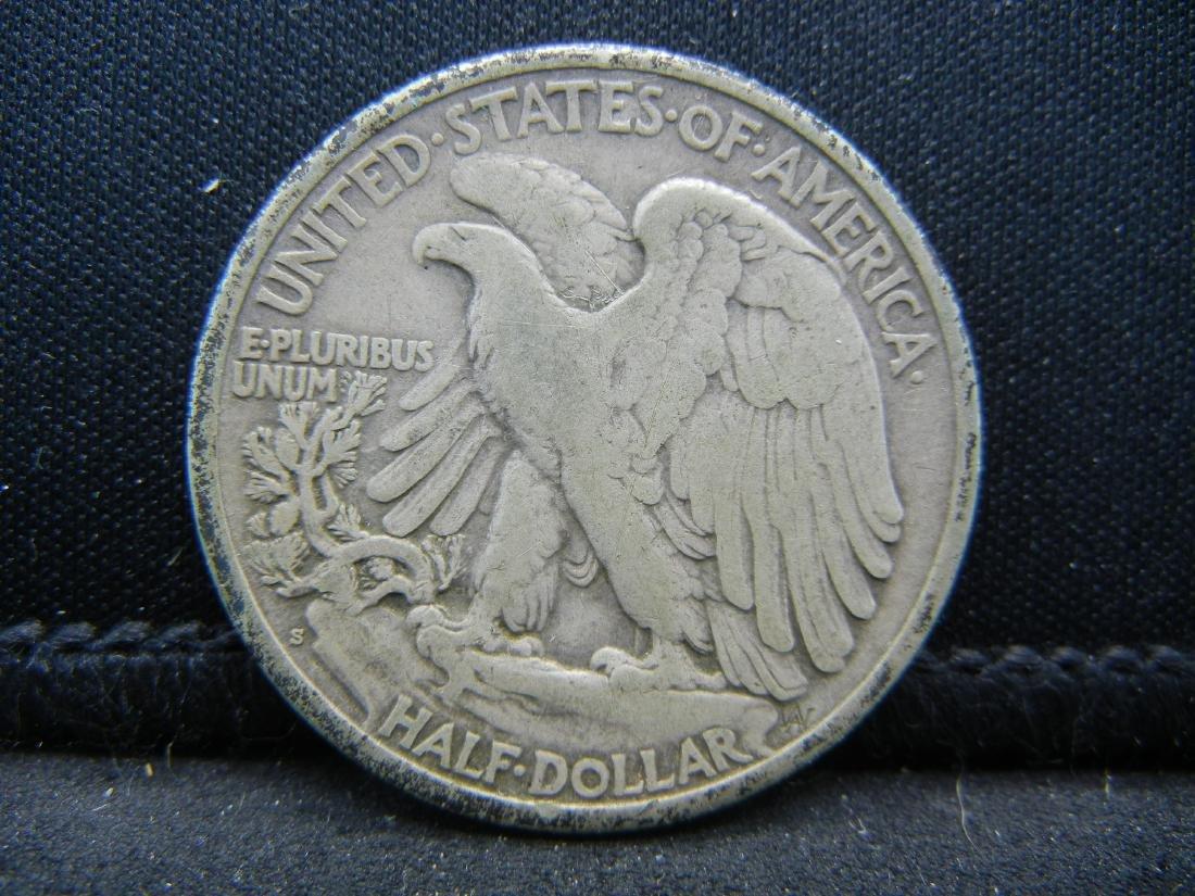1918-S Walking Liberty Half Dollar - 2