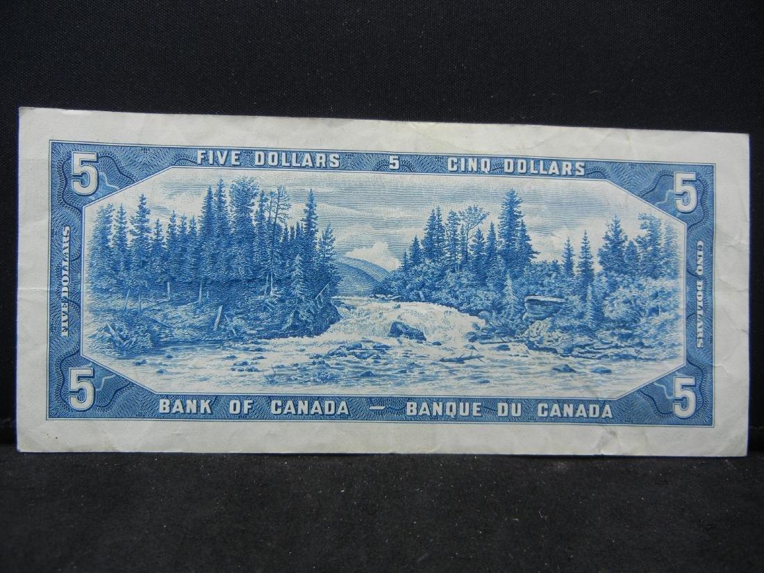 1954 Canada $5. AU. - 3