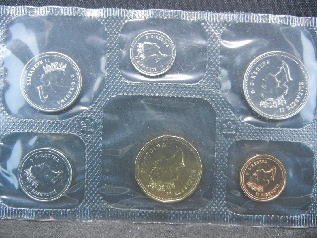 1987 1995 Royal Canadian Mint Sets with all Original - 3