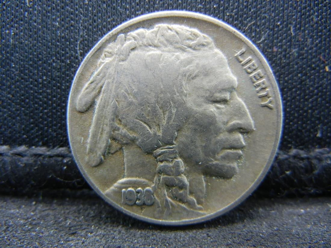 1938-D Buffalo Nickel.
