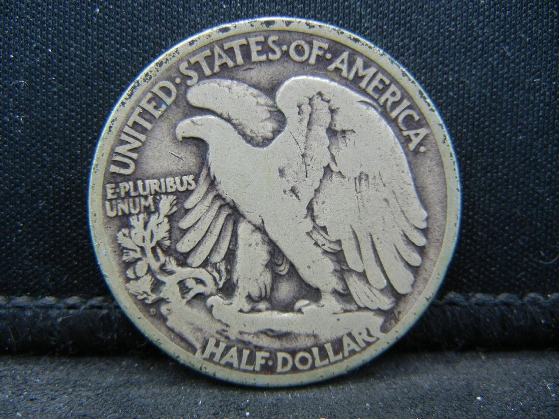 1918-D Walking Liberty Half Dollar - 2