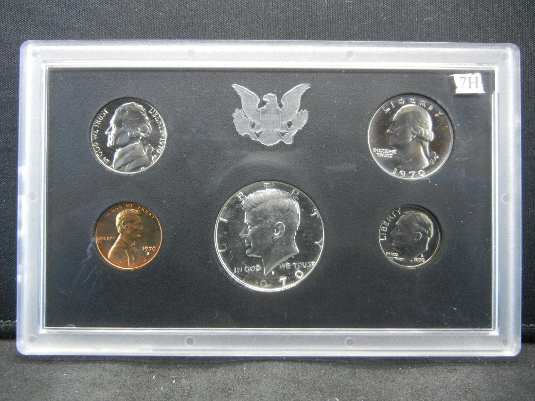 1970-S Silver Proof set. Key date in series.