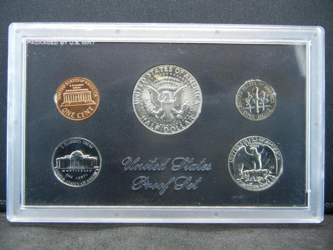 1970-S Silver Proof set. Key date in series. - 2