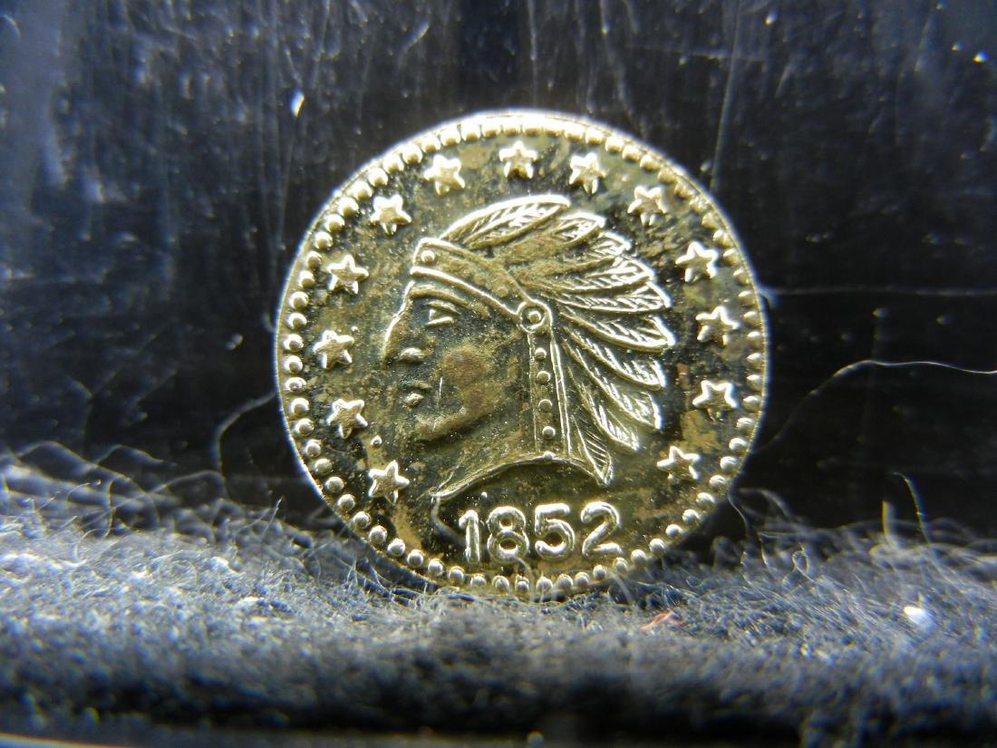 1852 California Token.