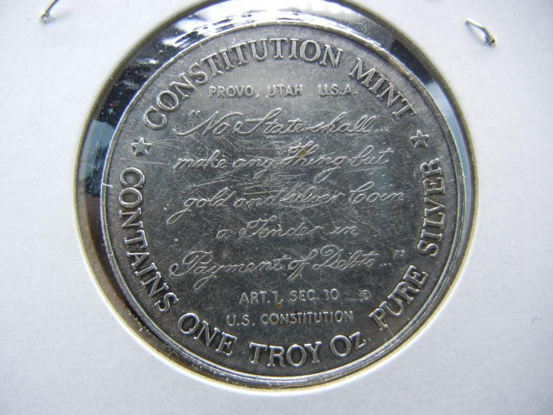 USS Constitution 1 ounce pure silver 999. PROOFLIKE! - 2