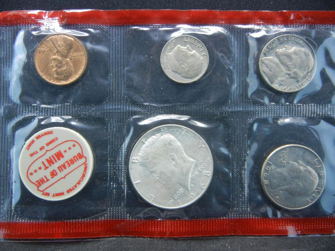 1968 United States Mint Set With Original Packaging. - 2