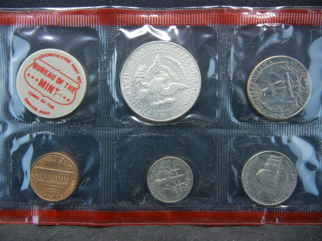 1968 United States Mint Set With Original Packaging. - 3