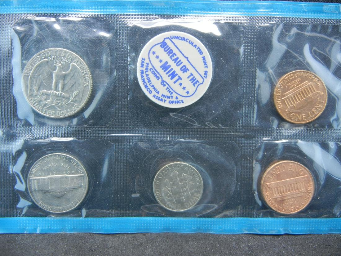1968 United States Mint Set With Original Packaging. - 5