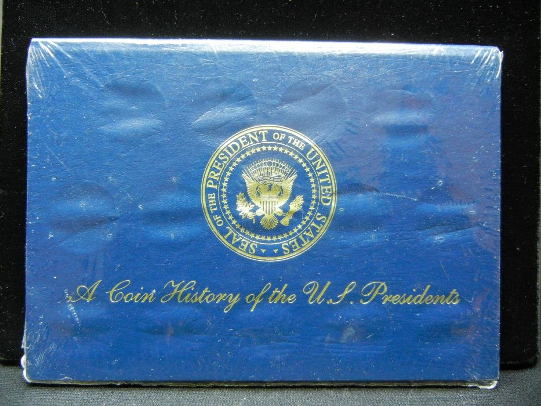 A coin history of US Presidents. BU. Gas Station - 2