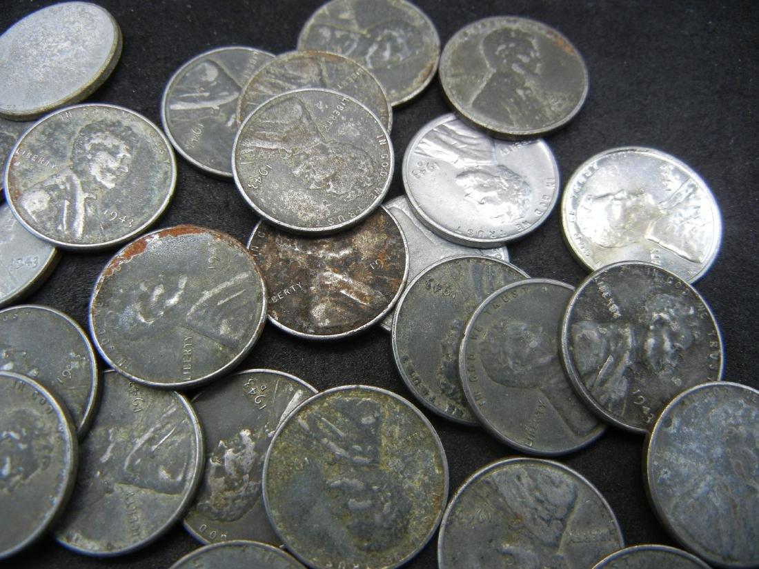 "Roll of 50-1943 Steel Cents, ""Wartime Emergency - 2"