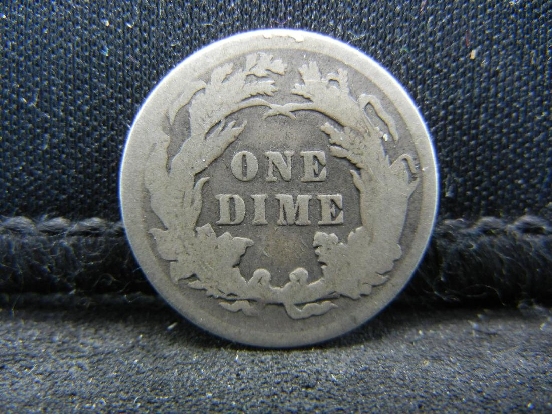 1891 United States Seated Liberty Dime. - 2