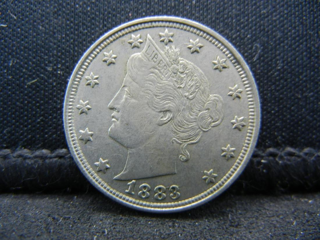 1883 V-Nickel.