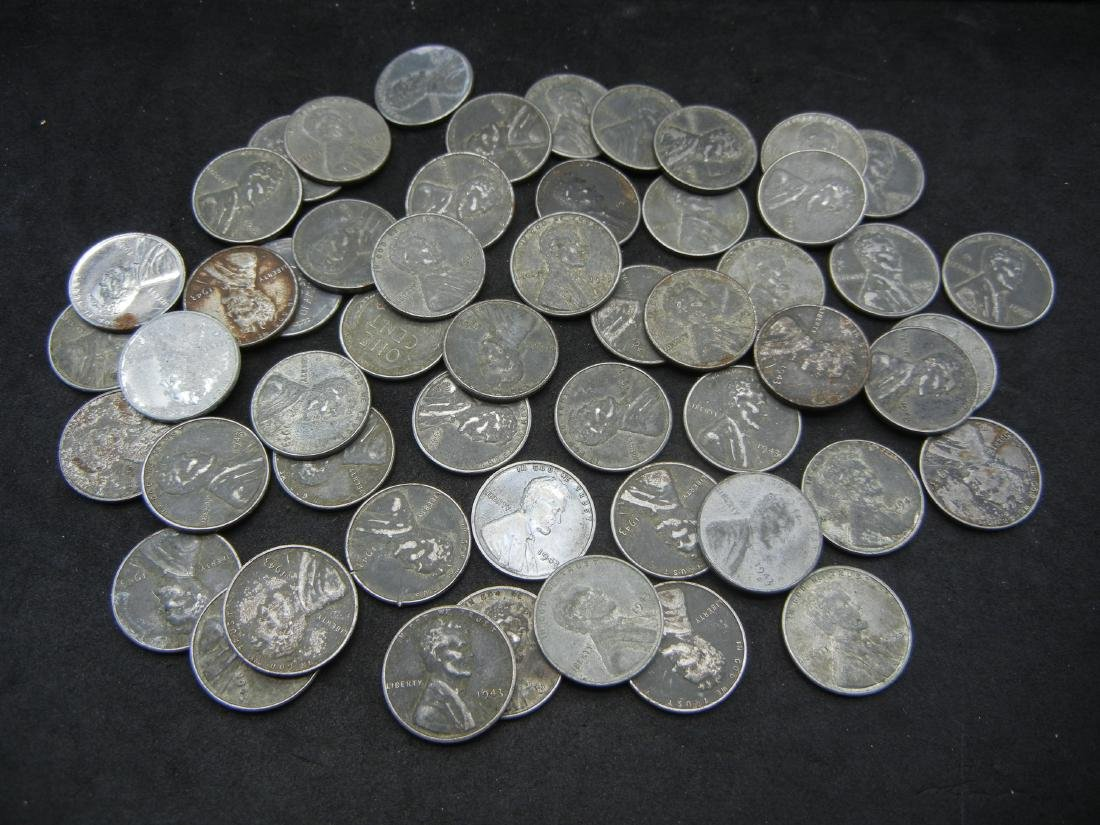 Roll of Unsorted STEEL cents. WOW! - 2