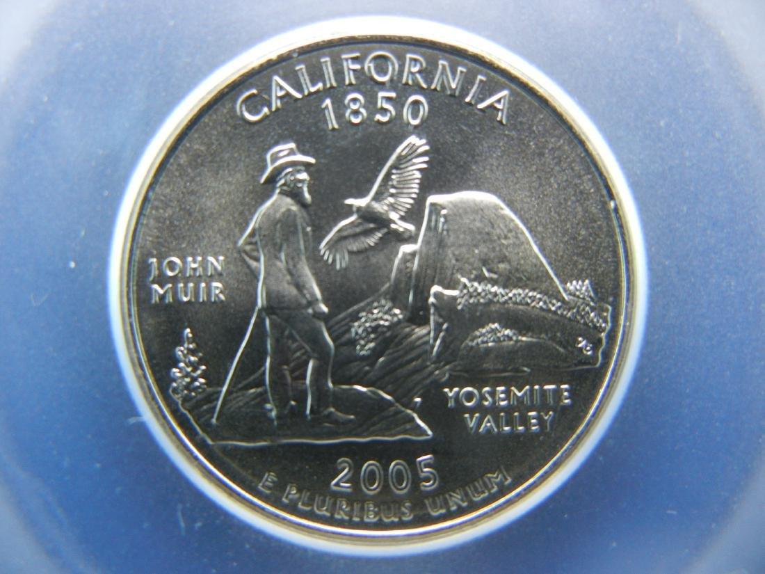 2005-D CALIFORNIA First Strike Quarter. Graded Special - 2