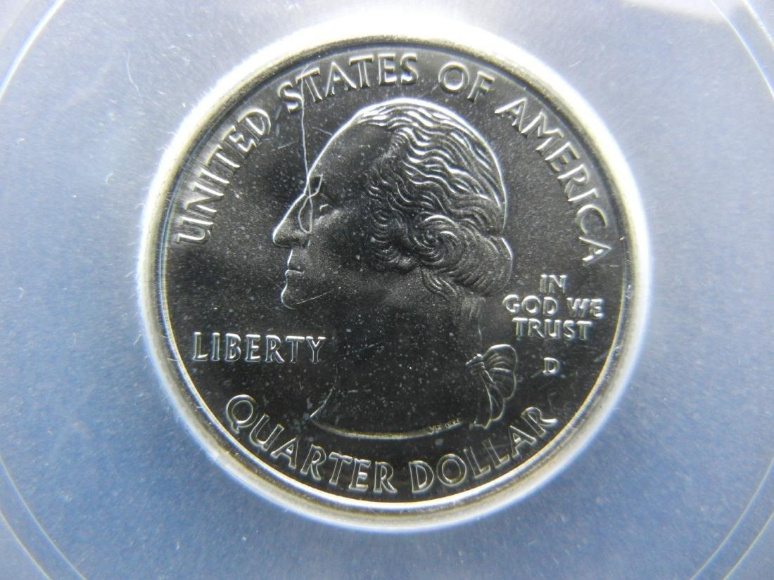 2005-D CALIFORNIA First Strike Quarter. Graded Special - 3