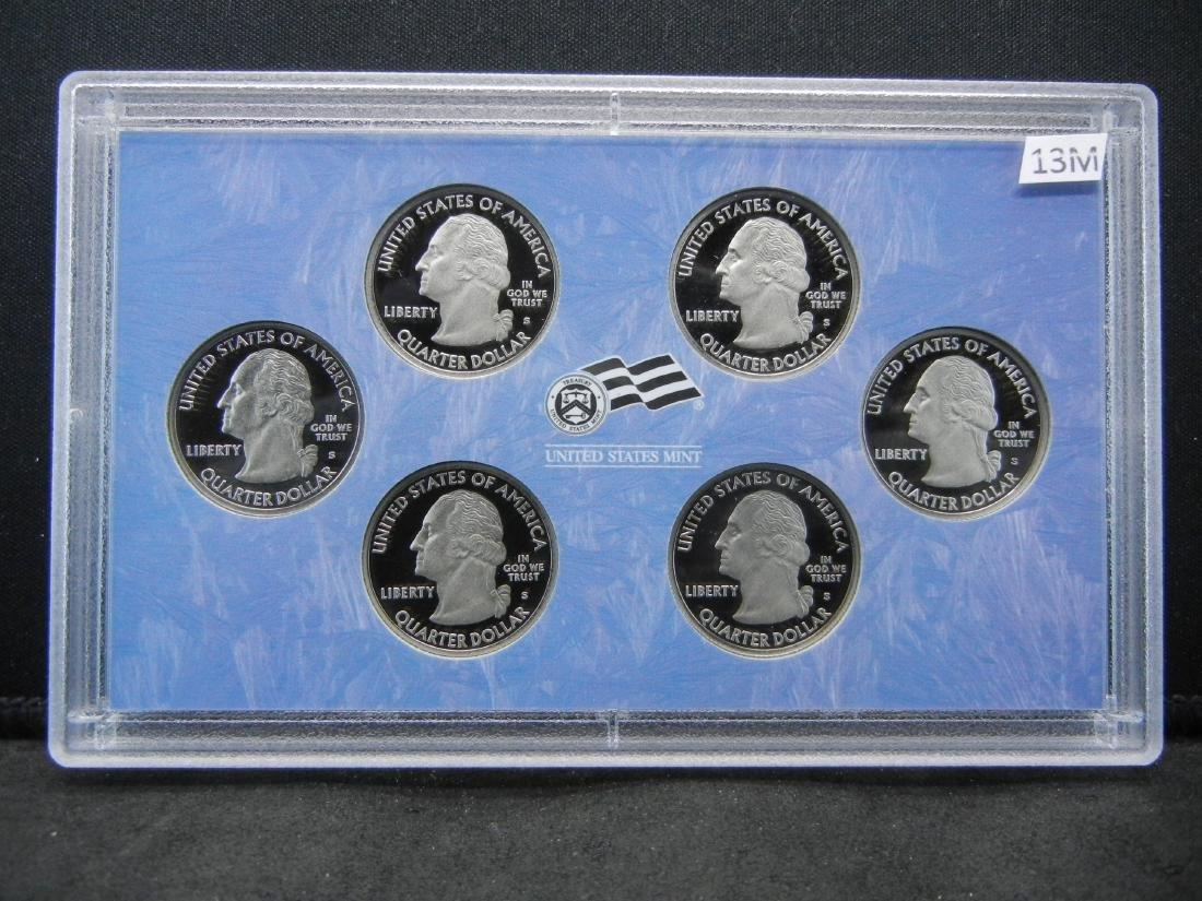 2009-S American Territories Proof Quarters 6-Coin Set