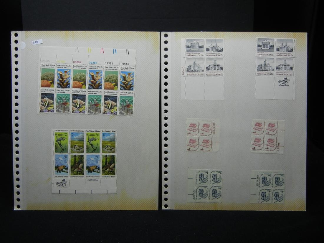 74 Miscellaneous Postage Stamps & 1 Unused 1979 Post