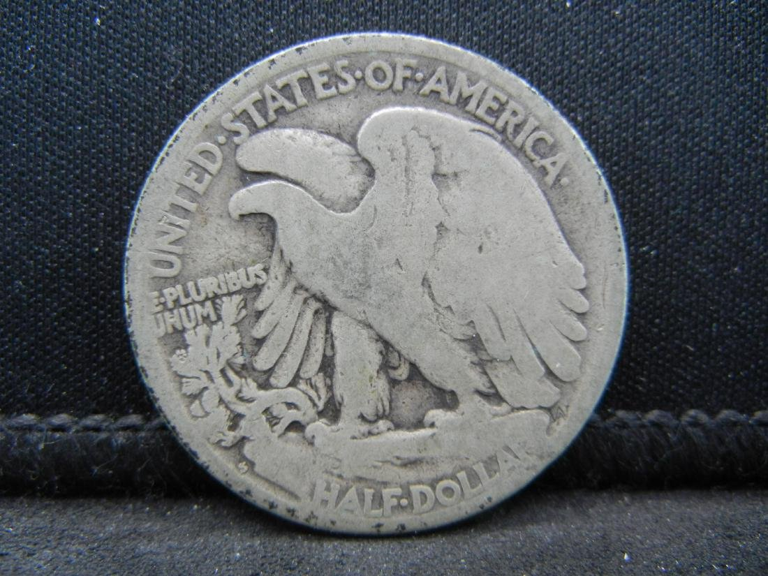 1927-S Walking Liberty Half Dollar - 2