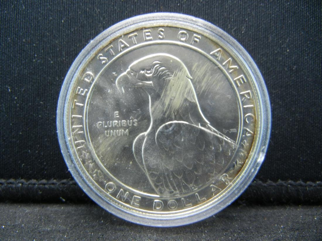 1983-D Los Angeles Olympics Silver Dollar. BU. Govt