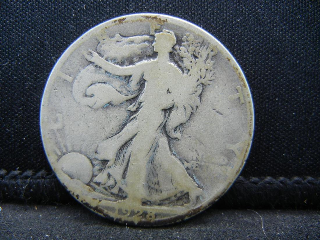 1928-S Walking Liberty Half Dollar