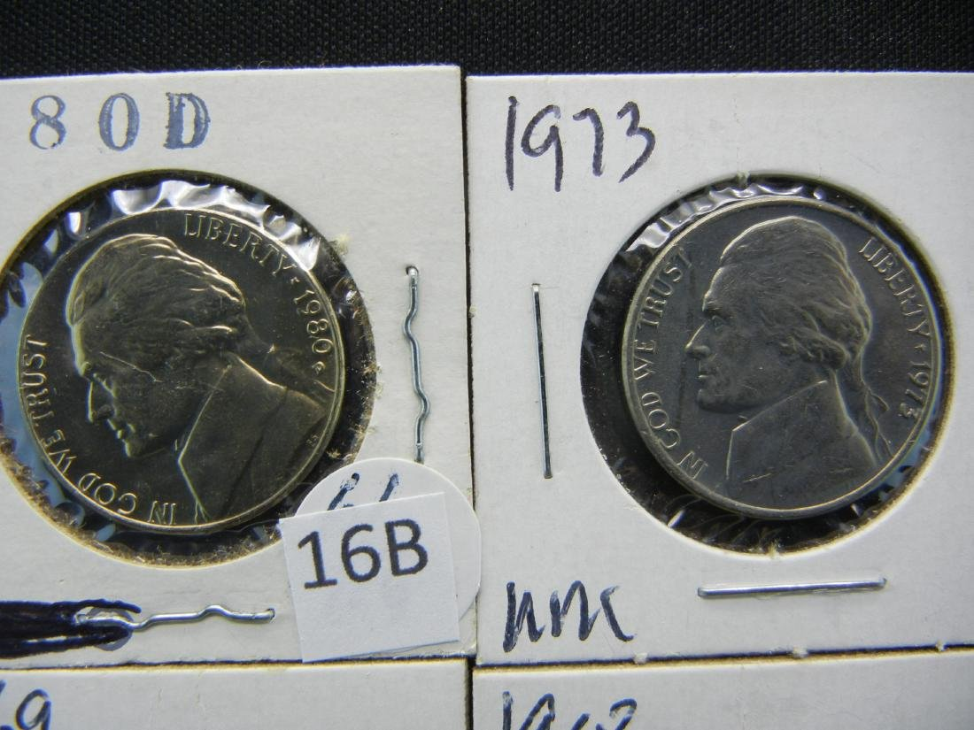 10 Jefferson Nickels High Grade - 2