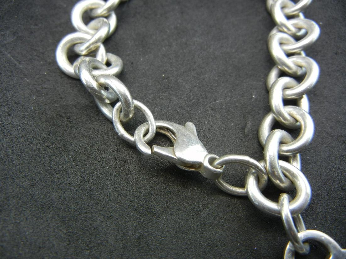 Tiffany&Co925 Heart Bracelet. Sterling 925 silver! - 2