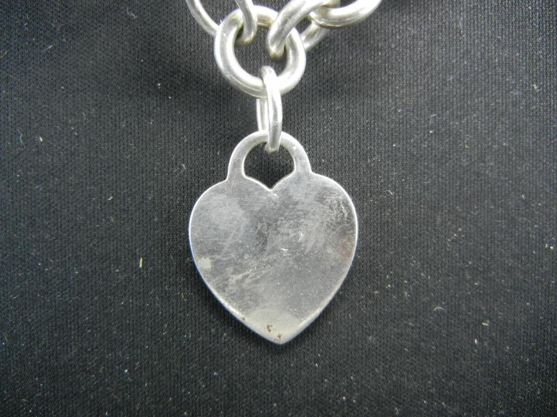 Tiffany&Co925 Heart Bracelet. Sterling 925 silver! - 3