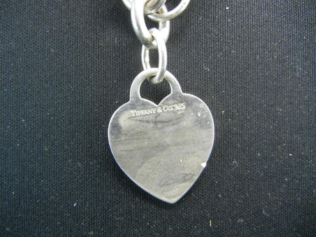 Tiffany&Co925 Heart Bracelet. Sterling 925 silver! - 4
