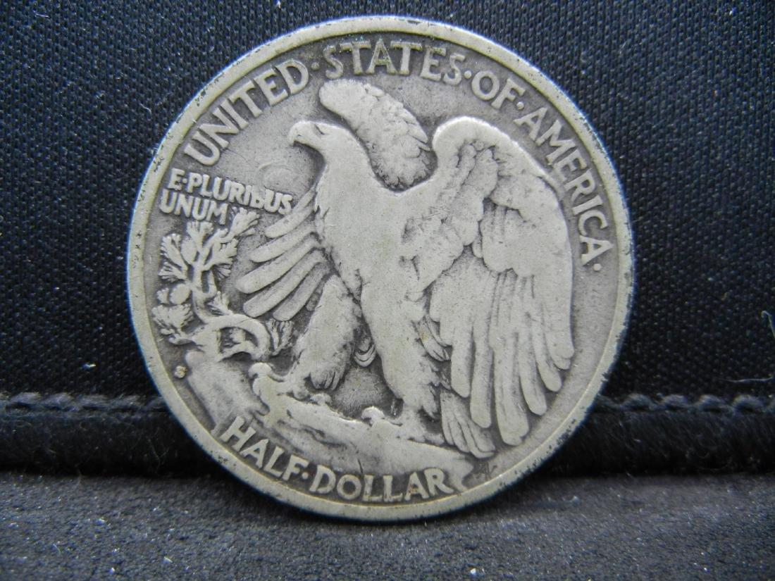 1929-S Walking Liberty Half Dollar - 2