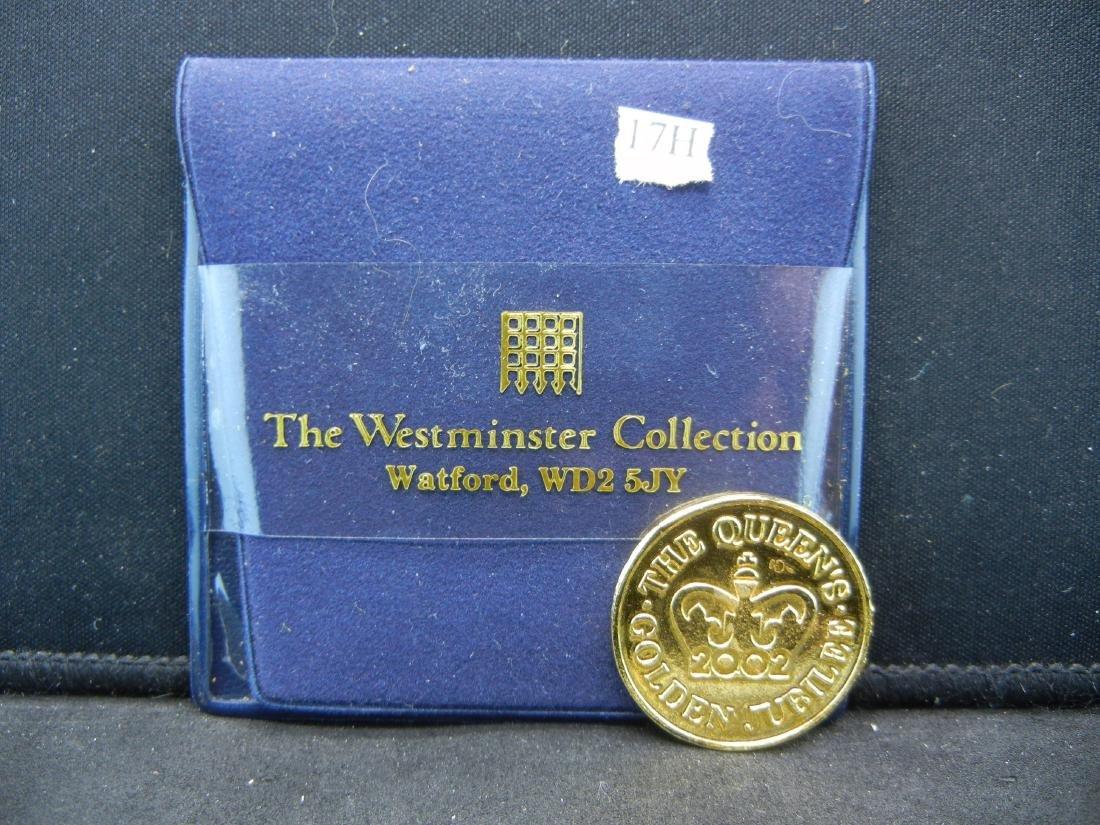 1952-2002 Golden Jubilee British Medal.