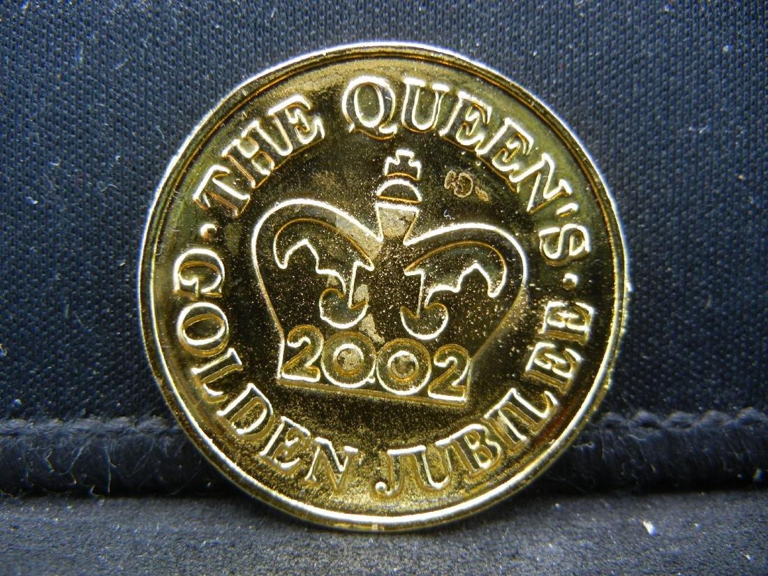 1952-2002 Golden Jubilee British Medal. - 2