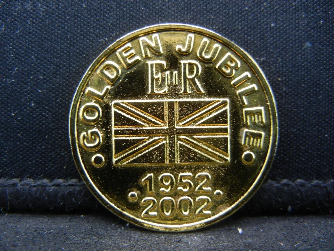 1952-2002 Golden Jubilee British Medal. - 3