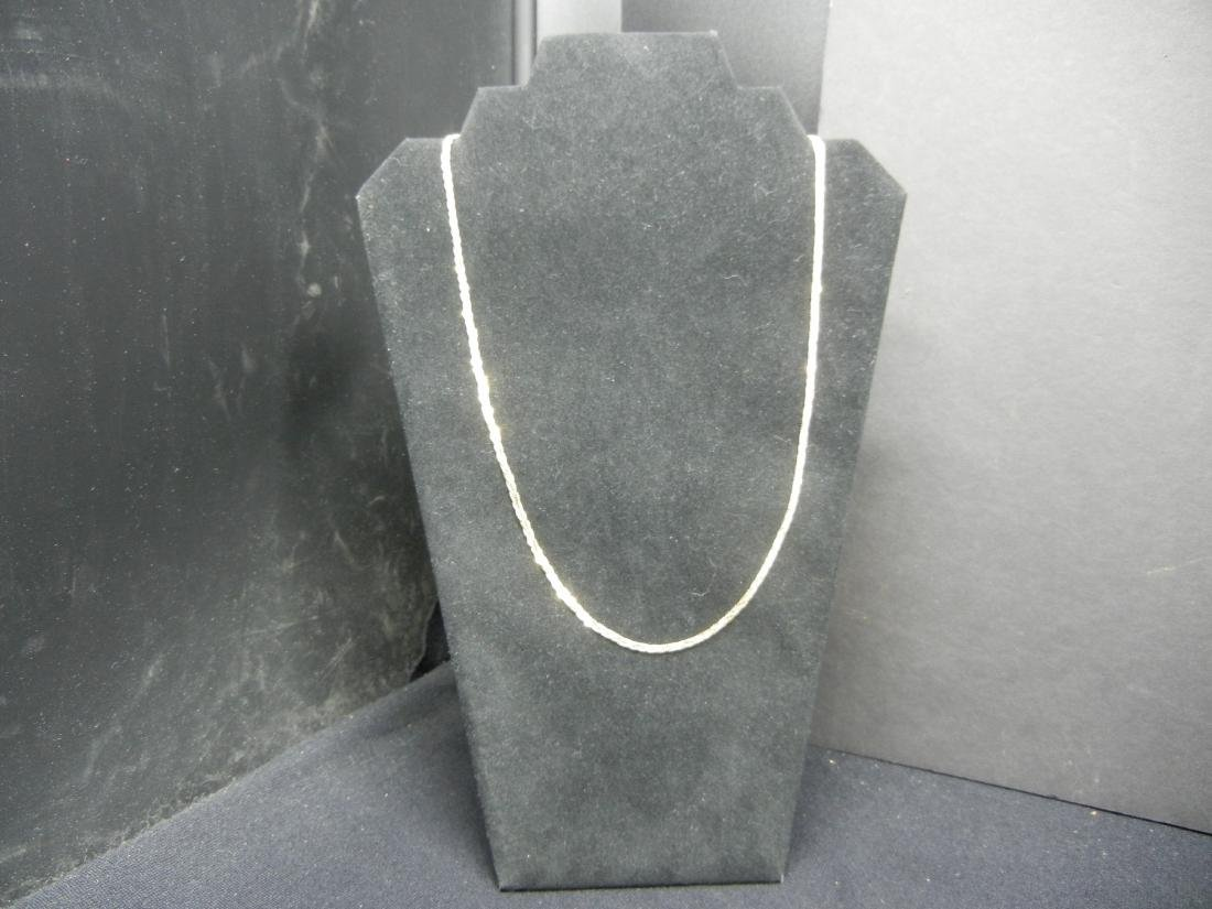 Sterling Silver 925 TRICOLOR necklace. Perfect