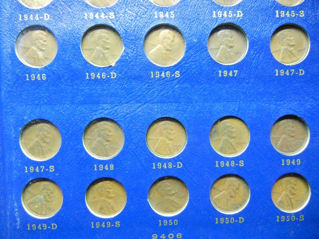 Lincoln Wheat Cents from 1941-1958, No 1955 Double Die, - 3