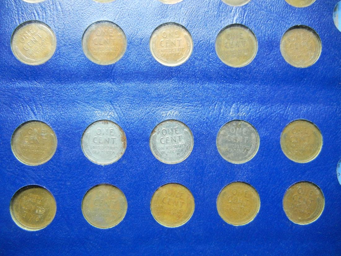 Lincoln Wheat Cents from 1941-1958, No 1955 Double Die, - 4