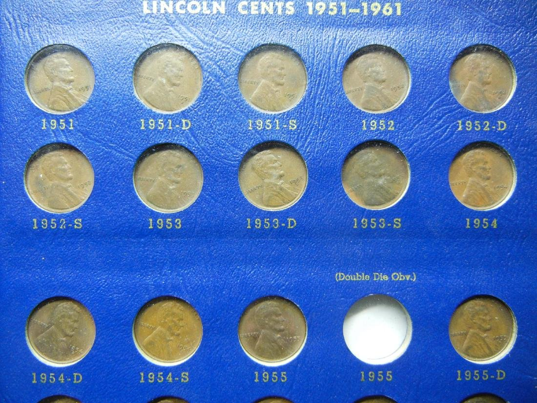 Lincoln Wheat Cents from 1941-1958, No 1955 Double Die, - 6