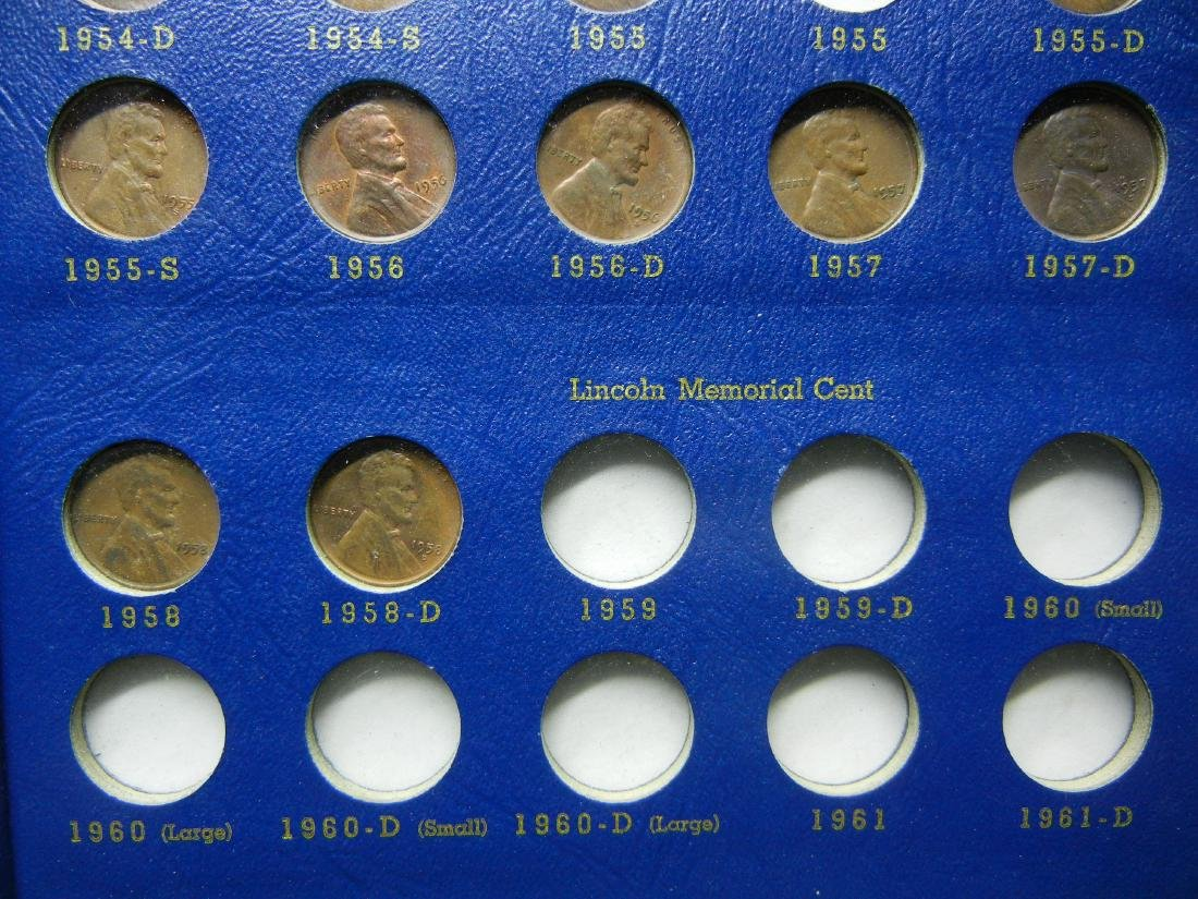 Lincoln Wheat Cents from 1941-1958, No 1955 Double Die, - 7