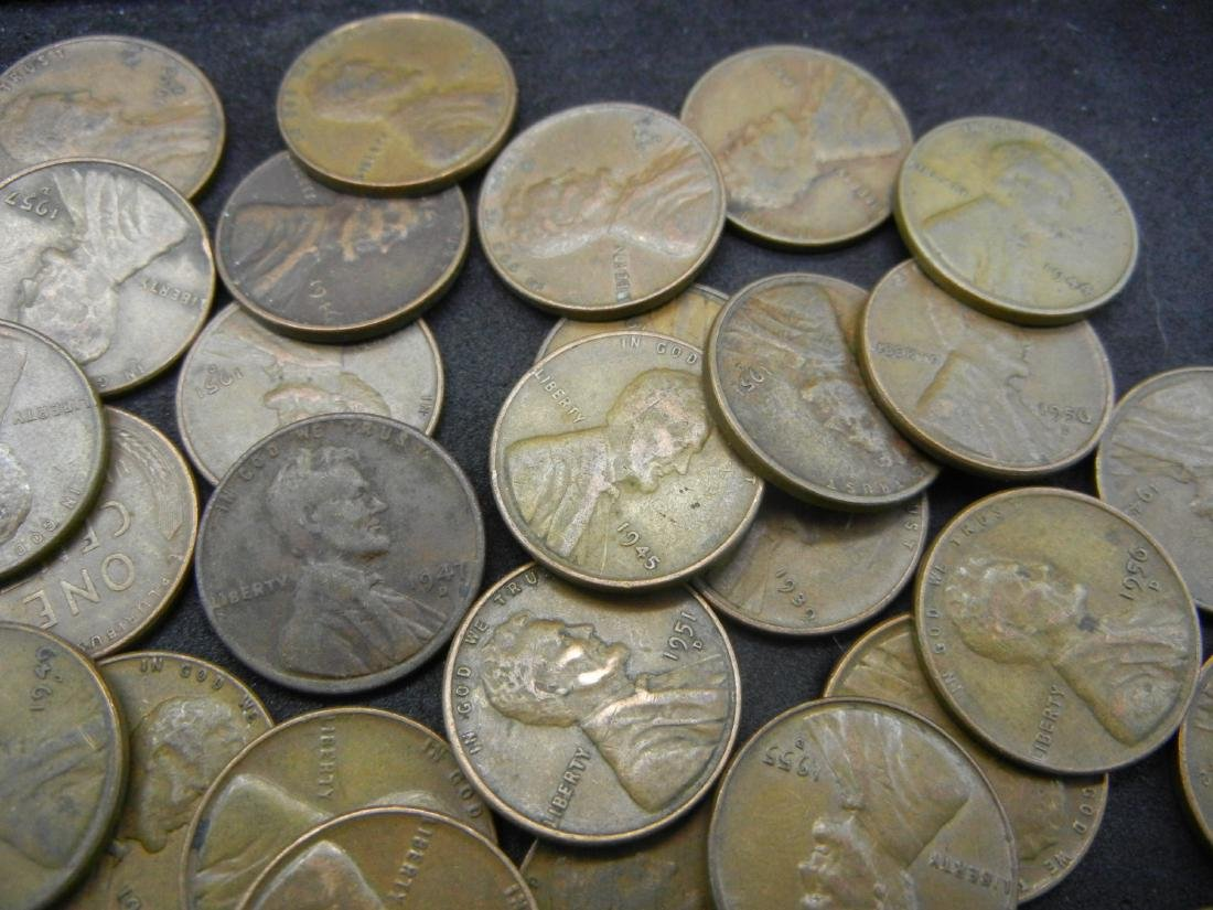100 Lincoln Wheat Cents. - 4