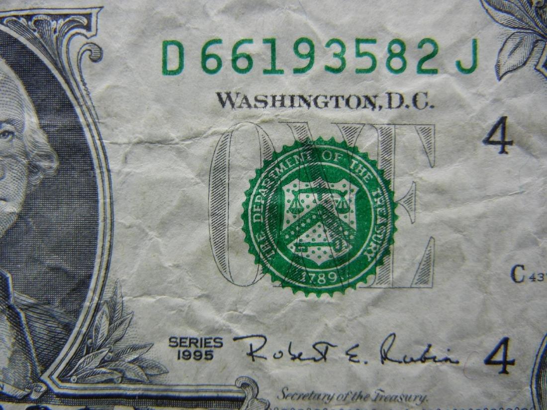 WACKY Reverse MISPRINNT ERROR $1. - 2