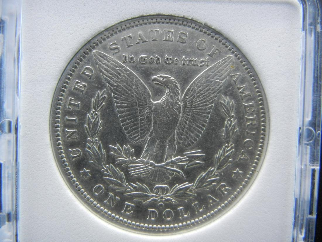 1894-O MORGAN SILVER DOLLAR, NPG MS64+. KEY DATE. - 3