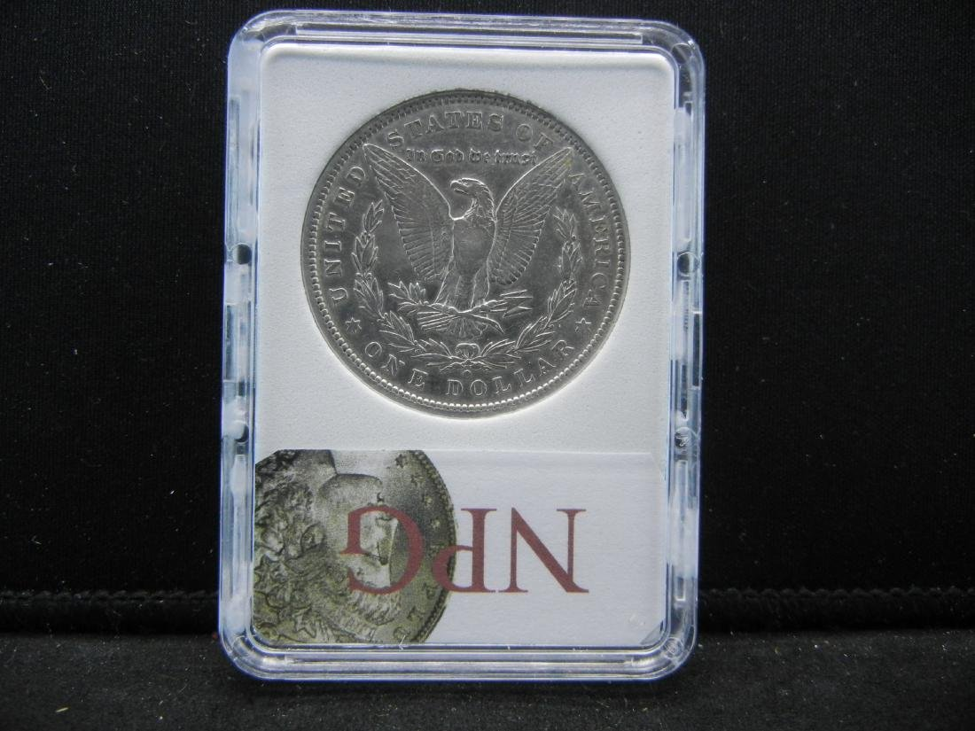 1894-O MORGAN SILVER DOLLAR, NPG MS64+. KEY DATE. - 4