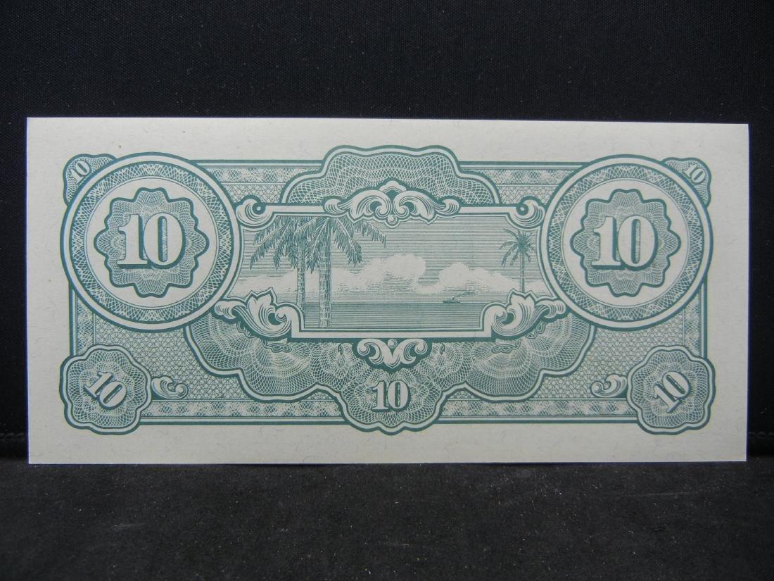 World War II Japanese 10 Dollars Malaya Occupation - 2