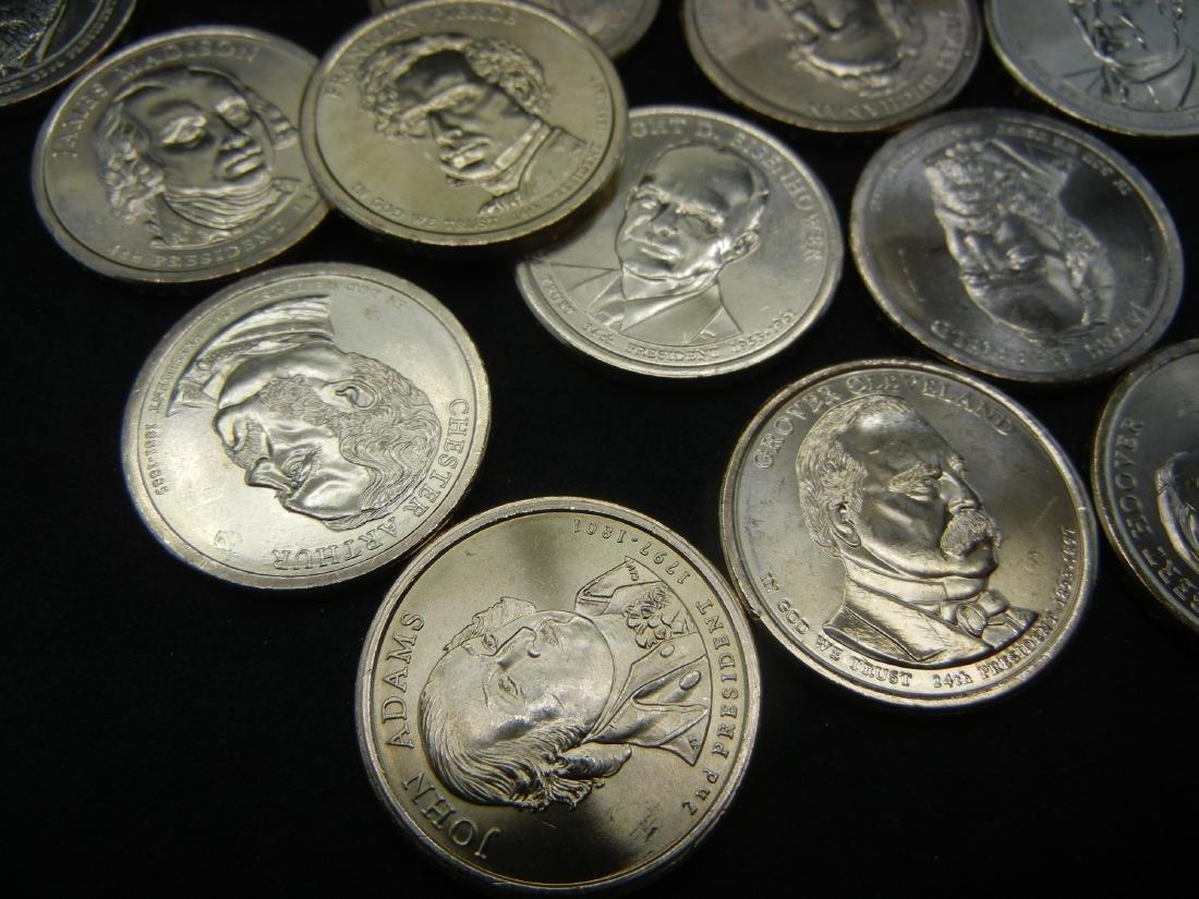 2007-2016 Presidential Dollar Set. 39 Coins. UNC 60 - 3