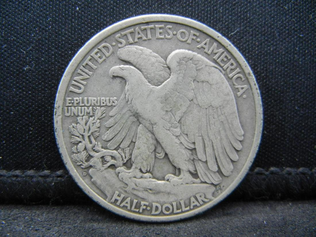 1934-D Walking Liberty Half Dollar - 2