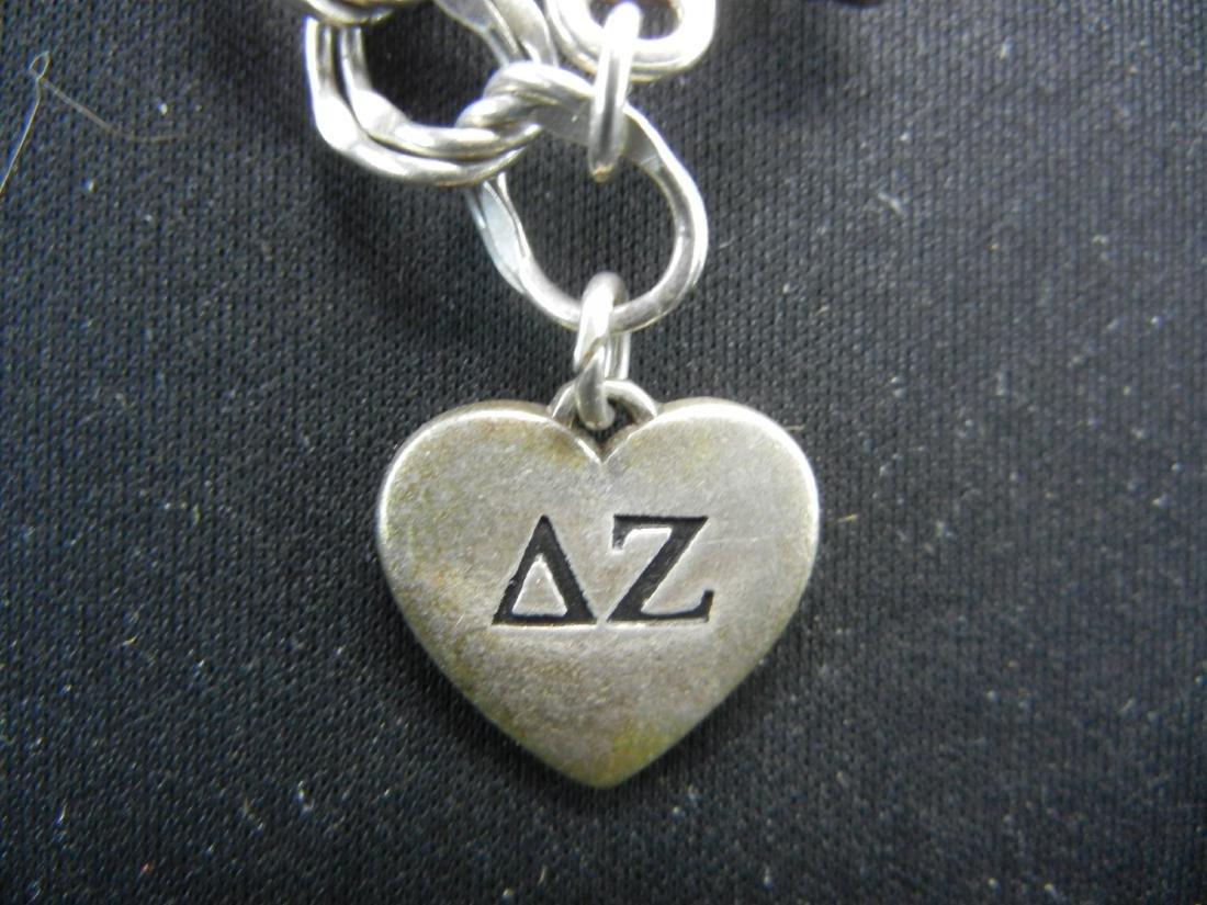 Delta Zeta Miami Univ. Ohio Sterling Silver 925 - 2