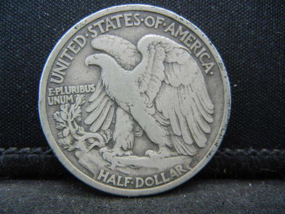 1935 Walking Liberty Half Dollar - 2