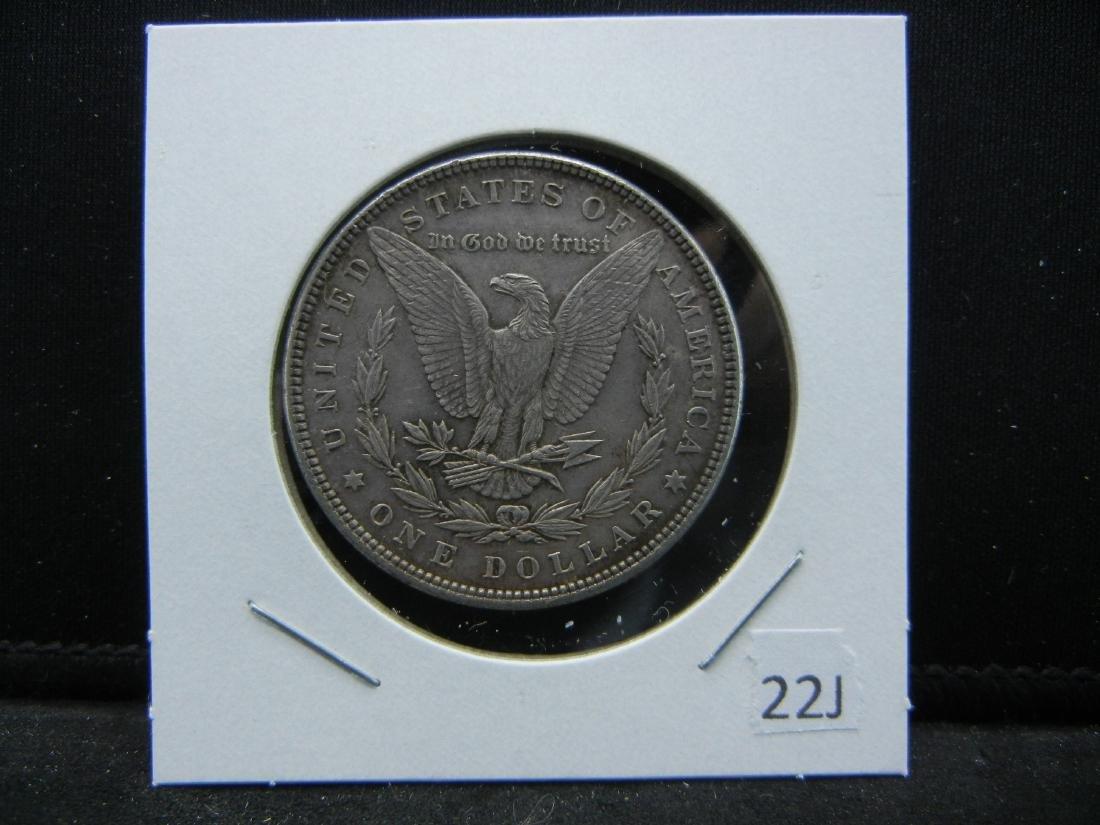 1885 Morgan Dollar. FULL FEATHERS. Unc. Clean cheek! - 3