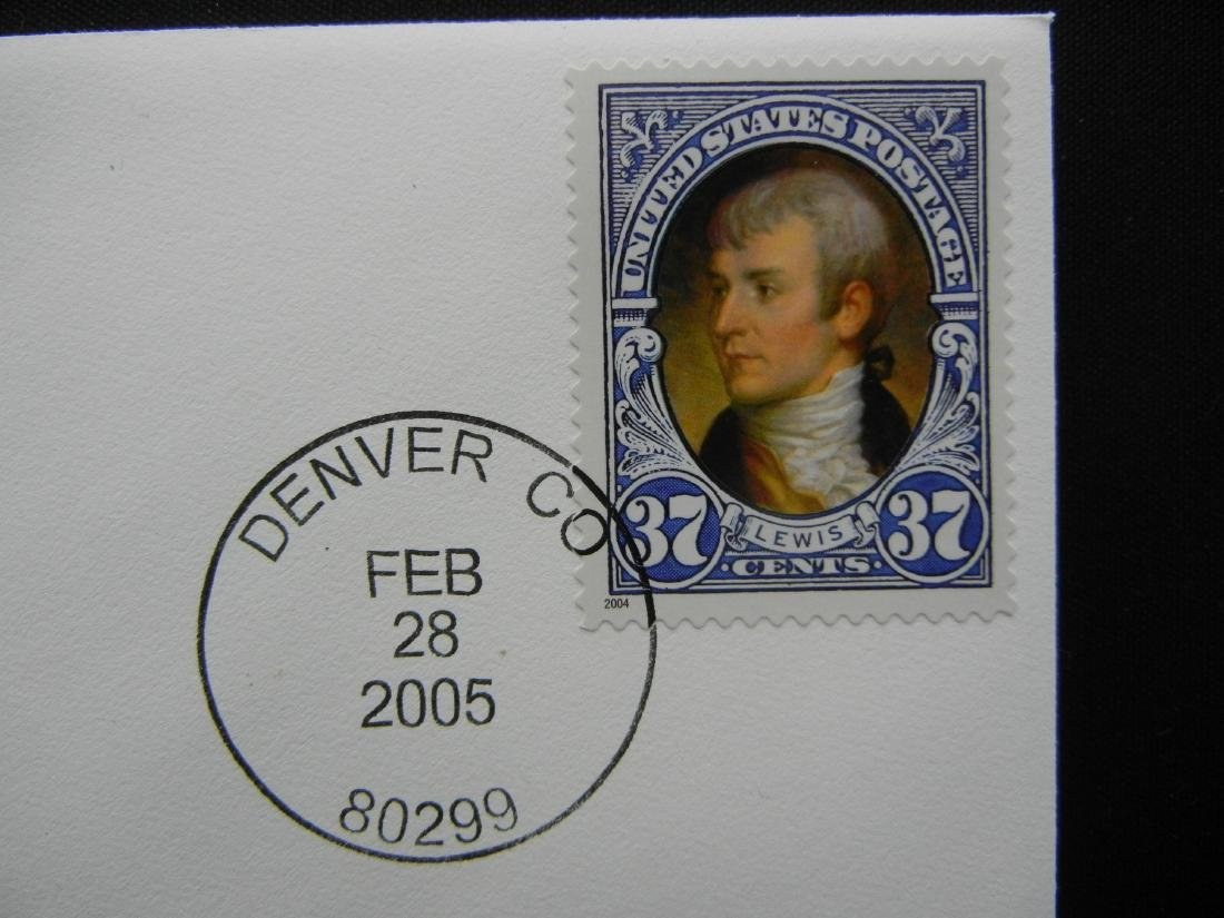 Denver Mint First Day of Issue Coin & Stamp Set - 3