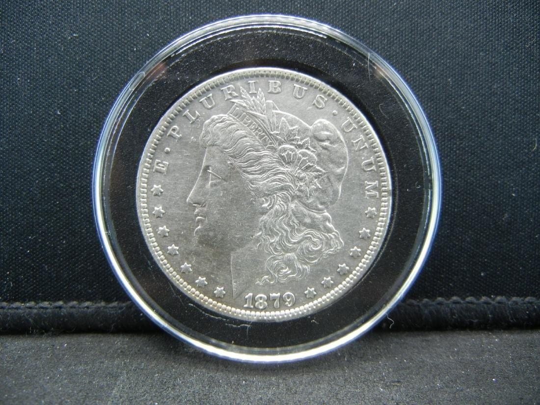 1879 O Morgan Silver Dollar