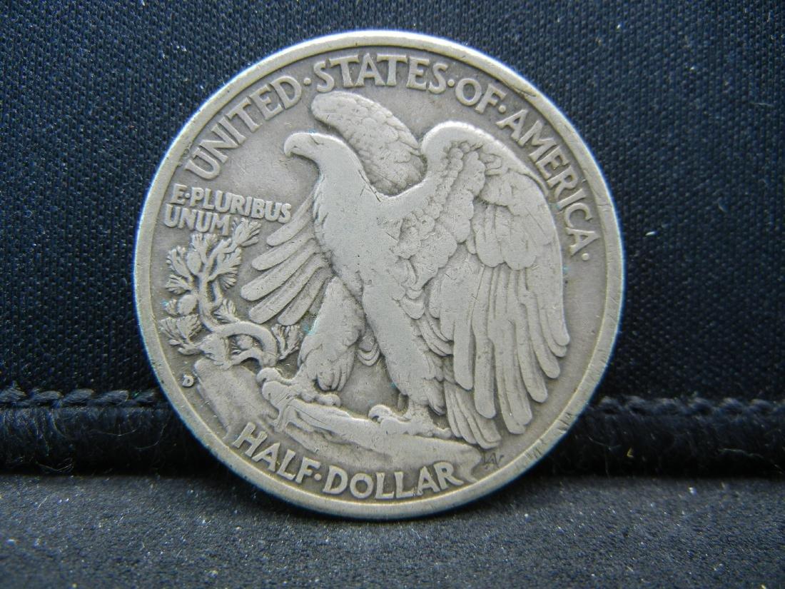 1935-D Walking Liberty Half Dollar - 2